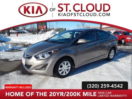 2016 Hyundai Elantra Limited St. Cloud MN