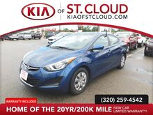 2016_Hyundai_Elantra_Limited_ St. Cloud MN
