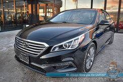 2016_Hyundai_Sonata_2.4L Limited / Ultimate Pkg / Heated & Ventilated Leather Seats / Panoramic Sunroof / Navigation / Infinity Speakers / Blind Spot Alert / Bluetooth / Back Up Camera / 38 MPG / 1-Owner_ Anchorage AK
