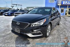 2016_Hyundai_Sonata_Limited / Ultimate Pkg / Tech Pkg / Heated Leather Seats / Heated Steering Wheel / Navigation / Panoramic Sunroof / Infinity Speakers / Adaptive Cruise / Lane Depart & Blind Spot Alert / HID Headlights / Bluetooth / 1-Owner_ Anchorage AK