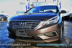 2016_Hyundai_Sonata_SE / Automatic / 7 Touchscreen Display / USB & Aux Jacks / Air Conditioning / Remote Keyless Entry / Back Up Camera / 16 Alloy Wheels / 38 MPG / 1-Owner_ Anchorage AK