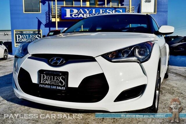 2016 Hyundai Veloster Coupe / Automatic / Viper Auto Start / Bluetooth / Back-Up Camera / Cruise Control / Only 18k Miles / 36 MPG / 1-Owner Anchorage AK