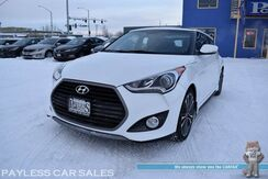 2016_Hyundai_Veloster_Turbo / Automatic / Heated Leather Bucket Seats / Panoramic Sunroof / Navigation / Dimension Speakers / Bluetooth / Back Up Camera / Keyless Entry & Start / Parking Aid / 33 MPG / Only 25k Miles_ Anchorage AK