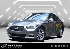 2016_INFINITI_Q50_3.0t Premium Navigation Backup Camera Roof Leather Warranty._ Houston TX