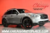 2016 INFINITI QX70 AWD - 3.7L V6 ENGINE ALL WHEEL DRIVE NAVIGATION TOP VIEW CAMERAS KEYLESS GO BLACK LEATHER HEATED/COOLED SEATS XENONS