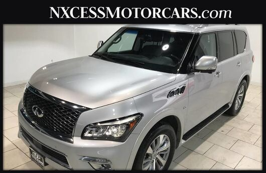 2016 INFINITI QX80 Leather, Multi View Camera, Navigation, Power Lift Gate & More! Houston TX