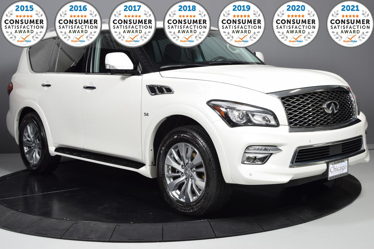 Vehicle Details 2016 Infiniti Qx80 At Greater Chicago Motors Glendale Heights