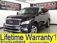 INFINITI QX80 V8 4WD BLIND SPOT MONITOR ADAPTIVE CRUISE CONTROL NAVIGATION SUNROOF LEATHE 2016