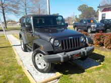 2016_JEEP_WRANGLER_SPORT 4X4, WARRANTY, MANUAL, SOFT TOP, TOW PKG, SIRIUS RADIO,HEATED MIRRORS, 1 LOCAL OWNER!!_ Norfolk VA