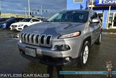 2016 Jeep Cherokee Latitude / 4X4 / Automatic / Bluetooth / Back Up Camera / Cruise Control / Luggage Rack / 28 MPG
