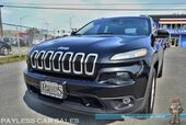 2016 Jeep Cherokee Latitude / AWD / 3.2L V6 / Automatic / Power Driver's Seat / Uconnect Bluetooth / Back Up Camera / Cruise Control / Blind Spot Monitor / 28 MPG / 1-Owner