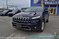 2016_Jeep_Cherokee_Limited / 4WD / 3.2L V6 / Power & Heated Leather Seats / Heated Steering Wheel / Navigation / Panoramic Sunroof / Auto Start / Keyless Entry & Start / Bluetooth / Back Up Camera / 1-Owner_ Anchorage AK