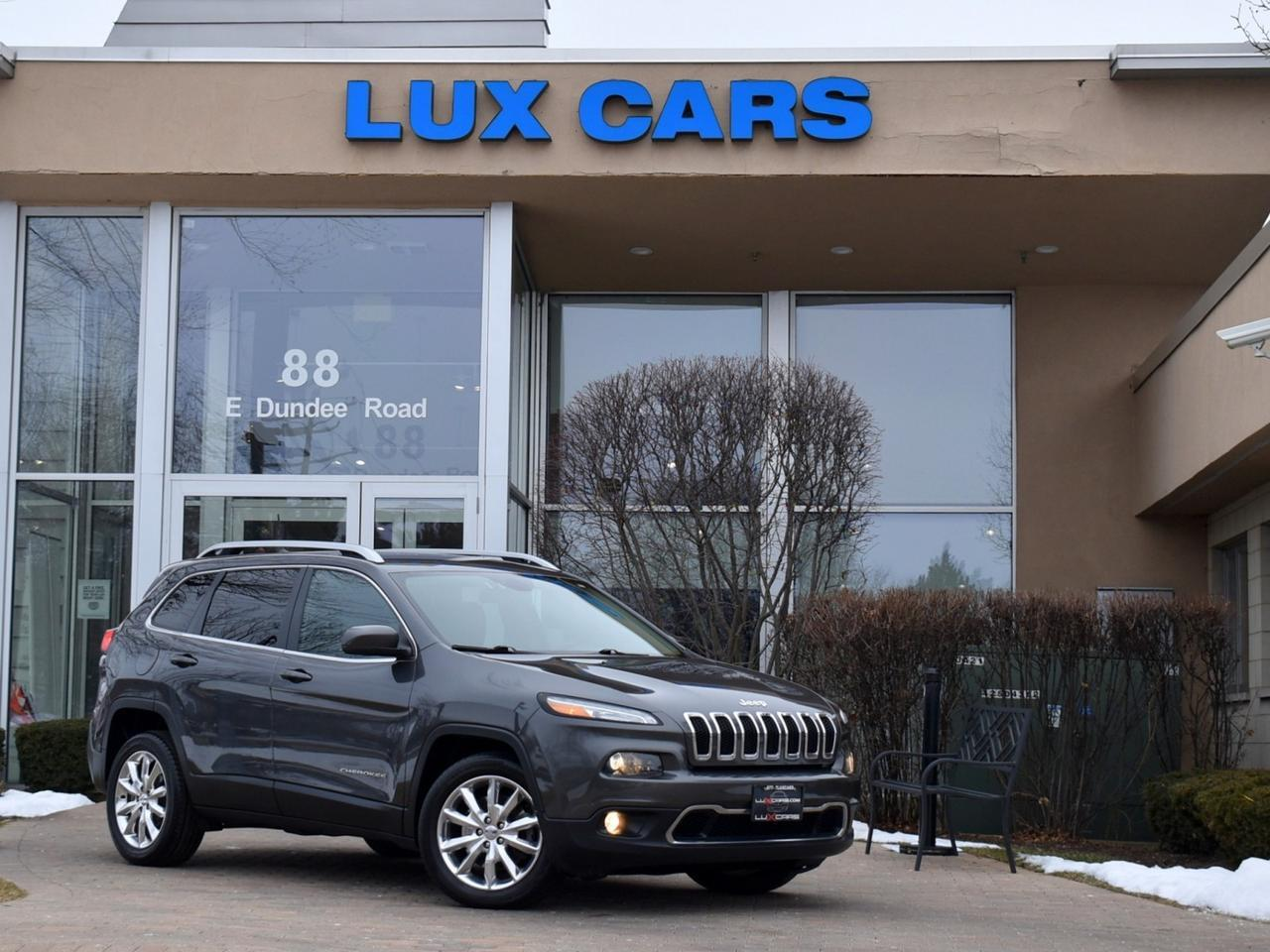 2016 Jeep Cherokee Limited Leather Buffalo Grove IL