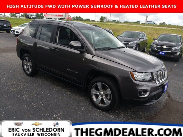 2016 Jeep Compass High Altitude Edition FWD w/Sunroof HtdLthr Milwaukee WI