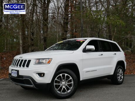 2016 Jeep Grand Cherokee 4WD 4dr Limited Pembroke MA