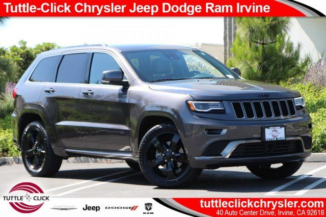 2016 Jeep Grand Cherokee High Alude Irvine Ca