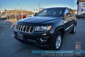 2016 Jeep Grand Cherokee Laredo / 4X4 / Bluetooth / Cruise Control / Keyless Entry & Start / Aluminum Wheels / 25 MPG / 1-Owner