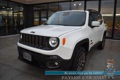 2016_Jeep_Renegade_75th Anniversary / 4X4 / Auto Start / Heated Seats / Heated Steering Wheel / Navigation / Beats Speakers / Bluetooth / Back Up Camera / Cruise Control / 29 MPG / 1-Owner_ Anchorage AK
