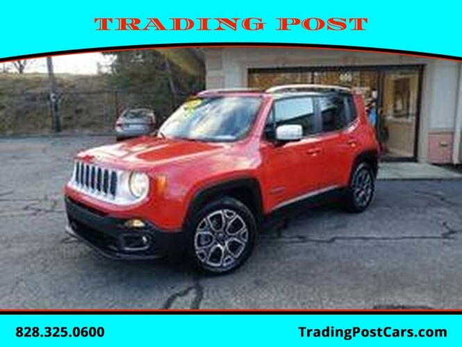2016_Jeep_Renegade_Limited_ Conover NC