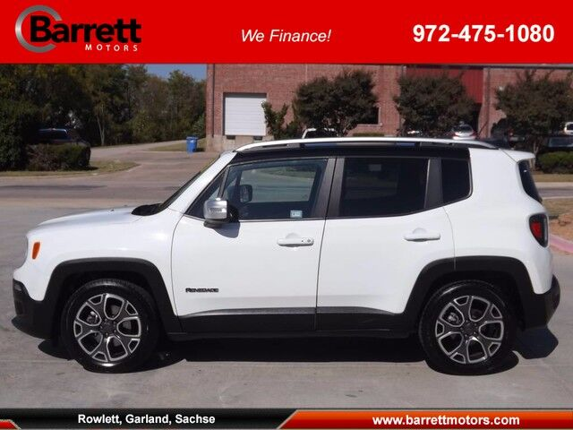 2016 Jeep Renegade Limited Garland TX