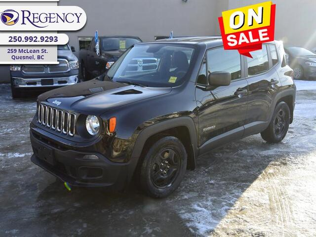 2016 Jeep Renegade Sport  - SiriusXM -  Bluetooth Quesnel BC