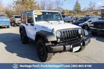 2016 Jeep Wrangler Sport South Burlington VT
