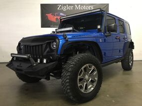 Jeep Wrangler Unlimited 4WD Rubicon One Owner Clean Carfax, Upgrades 2016