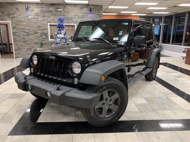2016 Jeep Wrangler Unlimited Black Bear Worcester MA