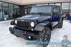 2016_Jeep_Wrangler Unlimited_Rubicon Hard Rock / 4X4 / Hard Top / Auto Start / Heated Leather Seats / Navigation / Alpine Speakers / Bluetooth / 20 MPG_ Anchorage AK