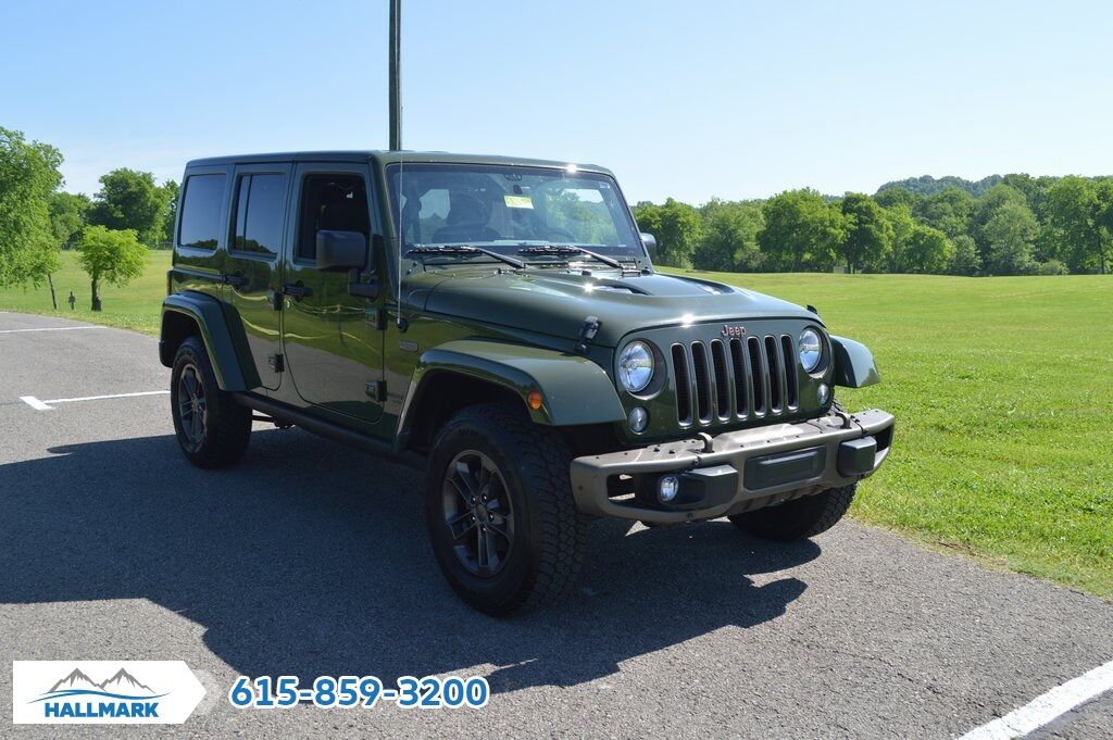2016 Jeep Wrangler Unlimited Sahara Franklin Tn