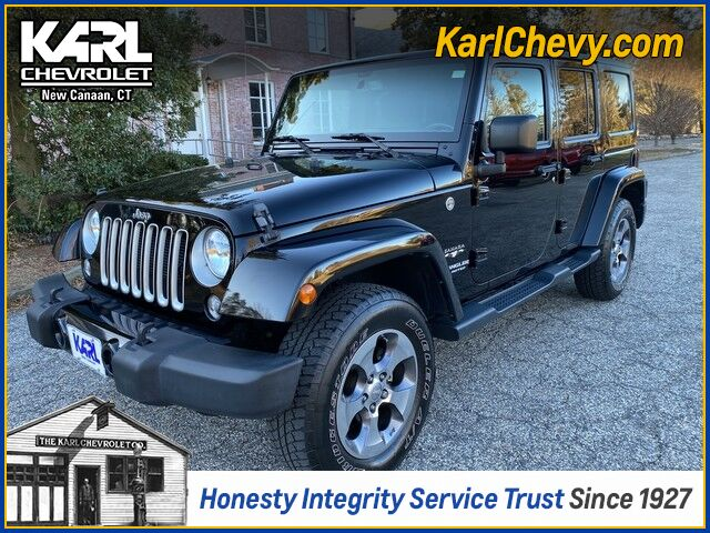 2016 Jeep Wrangler Unlimited Sahara New Canaan CT