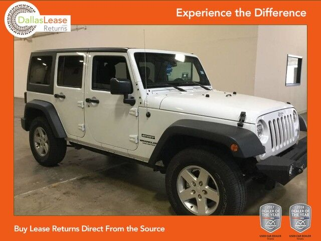 2016 jeep wrangler unlimited sport 4x4 dallas tx 23225210 sciox Images