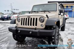 2016_Jeep_Wrangler Unlimited_Sport / 4X4 / Lifted / Automatic / 4-Dr Soft Top / Power Windows & Locks / Cruise Control / Luggage Rack / Low Miles / Tow Pkg / 1-Owner_ Anchorage AK