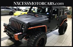 Jeep Wrangler Unlimited Sport Auto 4x4 Custom Paint, Lights, & Many Upgrades Must See 2016
