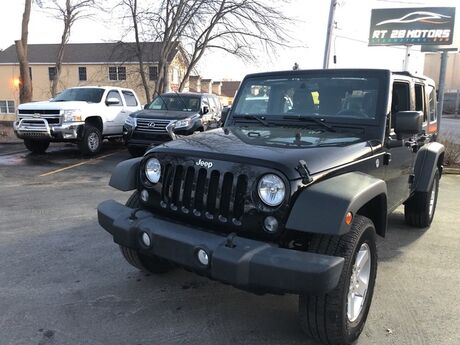 2016 Jeep Wrangler Unlimited Sport North Reading MA