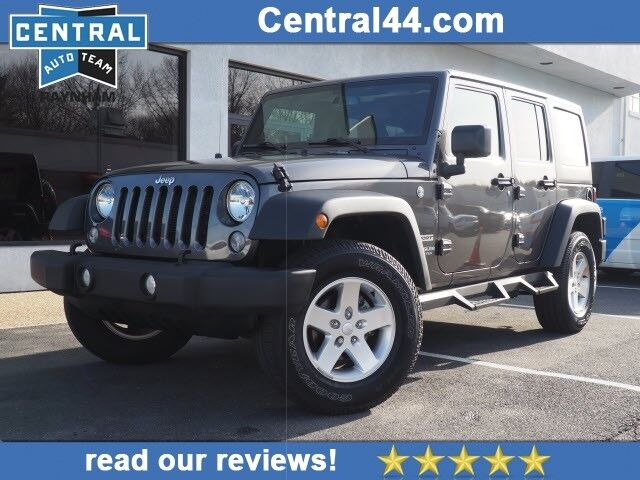 2016 Jeep Wrangler Unlimited Sport S Raynham Ma