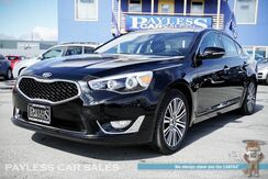 2016_Kia_Cadenza_Premium / Power & Heated Leather Seats / 8 Touchscreen Navigation / Panoramic Sunroof / Infinity Speakers / Bluetooth / Back Up Camera / Low Miles / 1-Owner_ Anchorage AK
