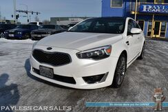 2016_Kia_Cadenza_SXL / 3.3L V6 / Heated & Ventilated Leather Seats / Heated Steering Wheel / Navigation / Sunroof / Infinity Speakers / Blind Spot Alert / 360 View Camera / Bluetooth / 1-Owner_ Anchorage AK