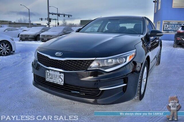 2016 Kia Optima LX / Automatic / 2-Way Auto Start / Bluetooth / Back Up Camera / Cruise Control / Block Heater / Hankook iPike Winter Tires / 35 MPG / 1-Owner Anchorage AK