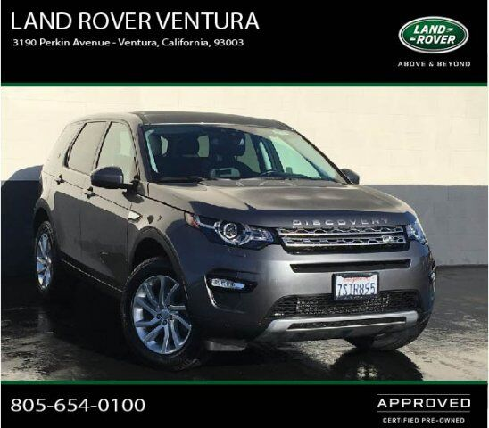 Hse Land Rover: 2016 Land Rover Discovery Sport HSE Ventura CA 26153354