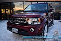 2016_Land Rover_LR4_HSE / 4X4 / Air Suspension / Front & Rear Heated Leather Seats / Heated Steering Wheel / Meridian Speakers / Sunroof / Adaptive Cruise / Blind Spot / Rear Entertainment / 3rd Row / Seats 7 / Back Up Camera / Tow Pkg_ Anchorage AK