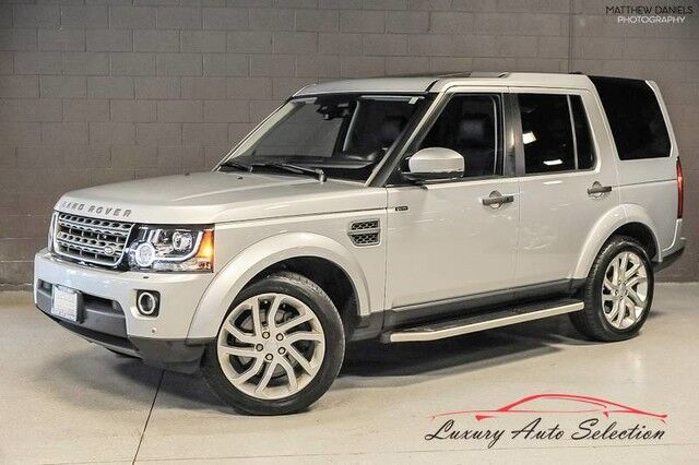 2016 Land Rover LR4 HSE Silver Edition 4dr SUV Chicago IL