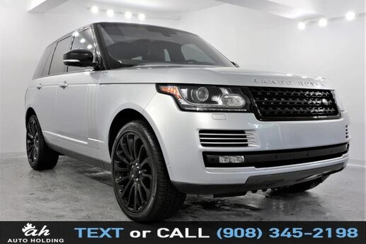 2016 Land Rover Range Rover 5.0L Supercharged Hillside NJ