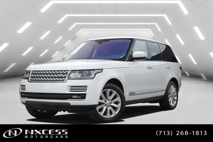 2016 Land Rover Range Rover Diesel HSE 4WD Navigation Panoramic Roof Houston TX