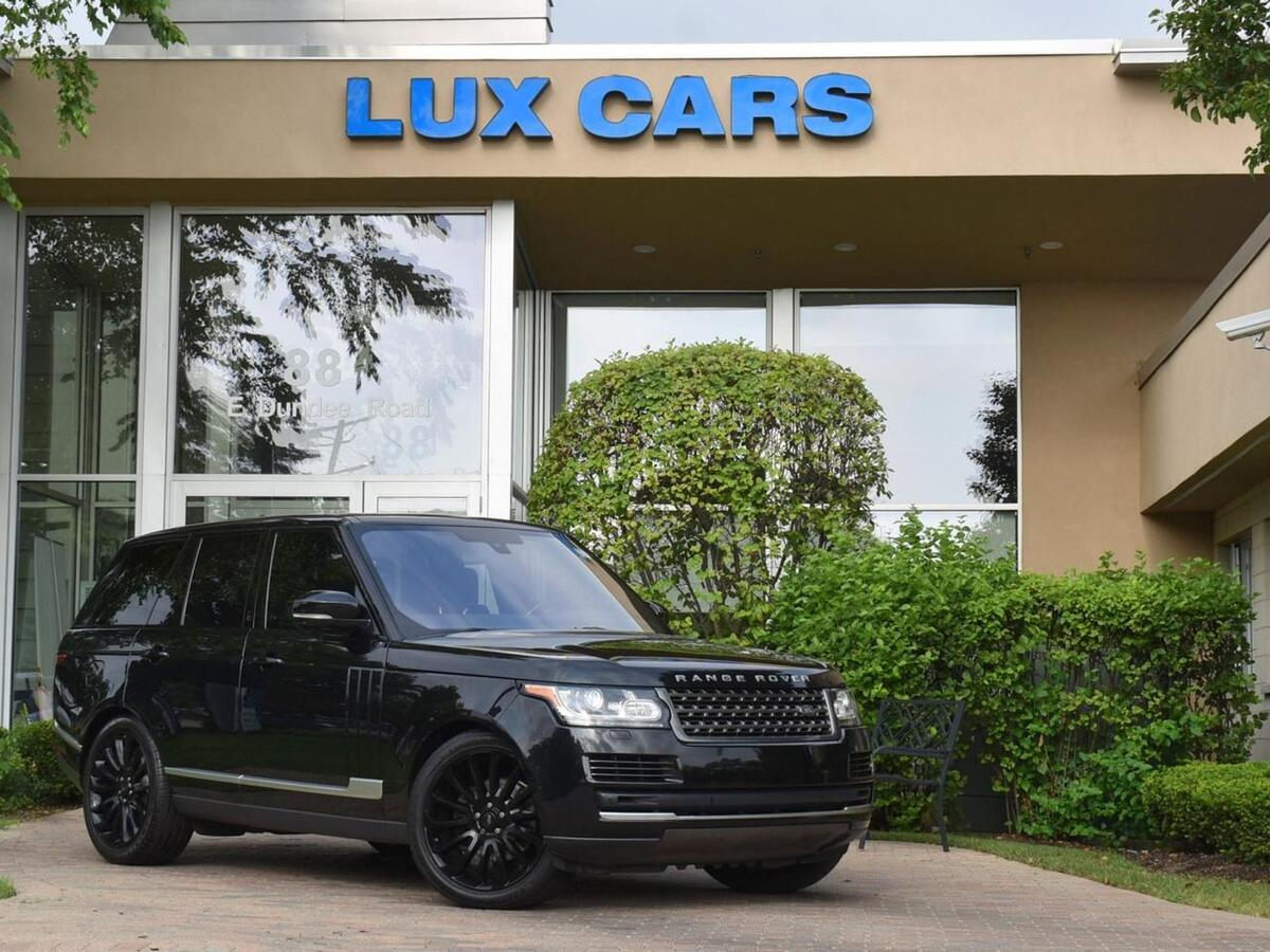 2016_Land Rover_Range Rover_Diesel Panoroof Nav 4WD MSRP $91,585_ Buffalo Grove IL