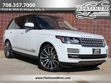 2016_Land Rover_Range Rover SC V8_Best Color Combo Factory Warranty 2 Keys Books Black Piano Wood_ Hickory Hills IL