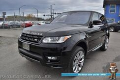 2016_Land Rover_Range Rover Sport_Autobiography / 4X4 / Air Suspension / Heated Leather Seats & Steering Wheel / Panoramic Sunroof / Meridian Speakers / HUD / Navigation / Adaptive Cruise / Lane Departure & Blind Spot Alert / Tow Pkg_ Anchorage AK