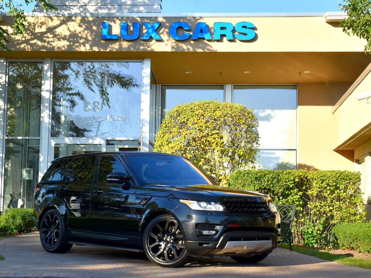 2016_Land Rover_Range Rover Sport_V6 Diesel HSE Panoroof Nav 4WD MSRP $81,716_ Buffalo Grove IL