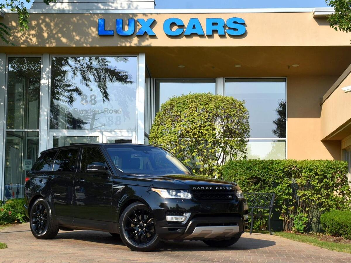 2016_Land Rover_Range Rover Sport_V6 HSE Panoroof Nav 4WD 80,136_ Buffalo Grove IL