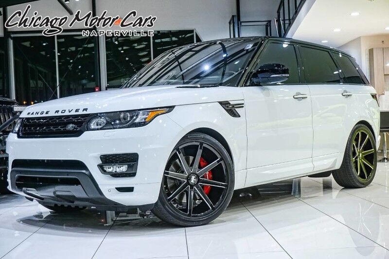2016_Land Rover_Range Rover Sport_V6 HST Limited Edition_ Chicago IL